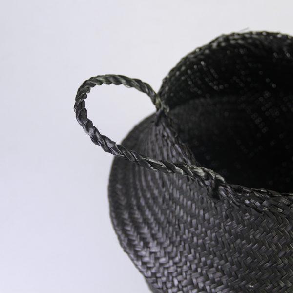 סל מטלי שחור