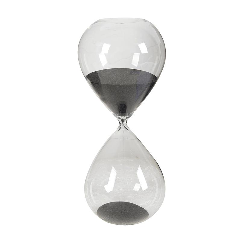 שעון חול שחור